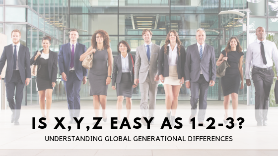 Assessing Global Generational Differences: Is X, Y, Z as easy as 1-2-3?