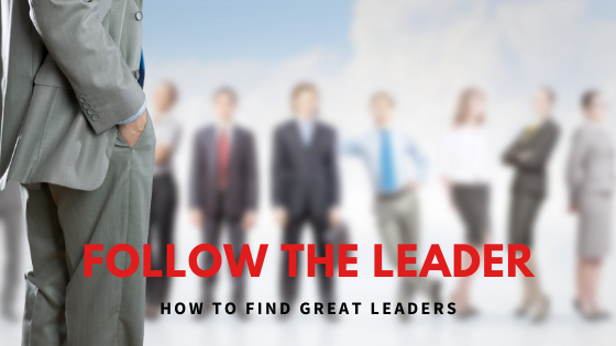 Follow the Leader – How to Find Great Leaders